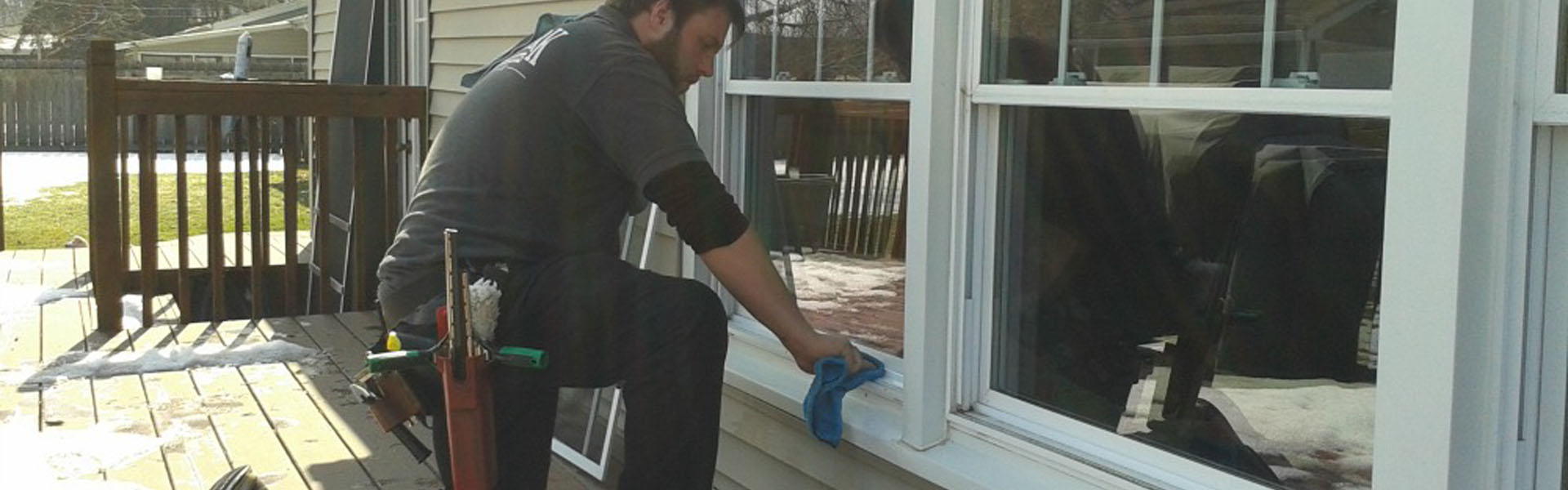 how to clean window sill tracks